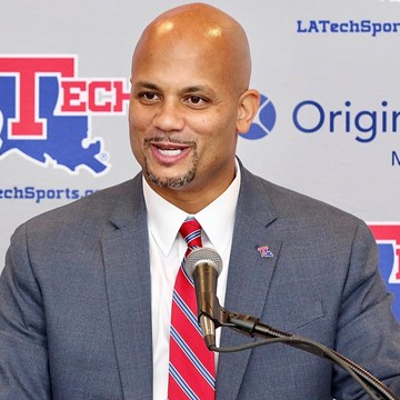 Dr. Eric Wood VP of Athletics, Louisiana Tech University